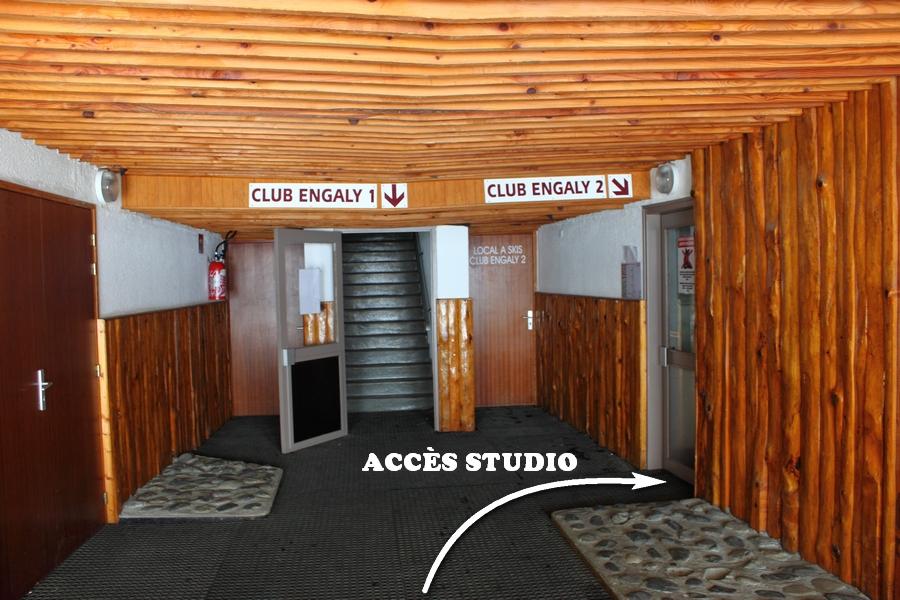 accès au studio location à piau engaly