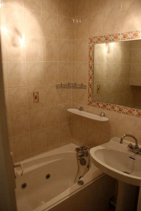 la salle de bains, location à Piau Engaly