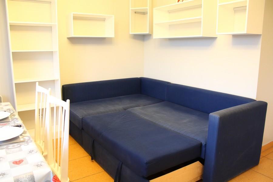 canapé-lit convertible lit 2 personnes, location à Piau